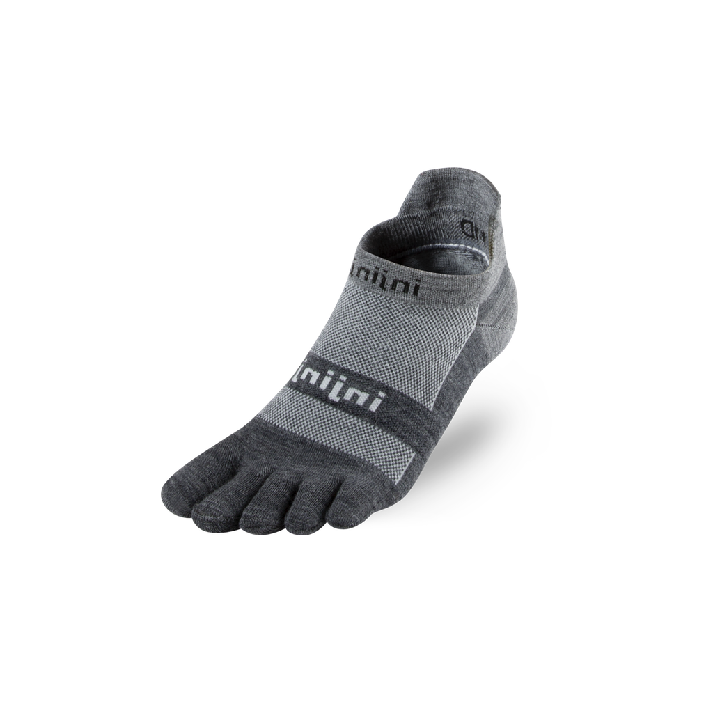 Run Lightweight No-Show NüWool – Granite