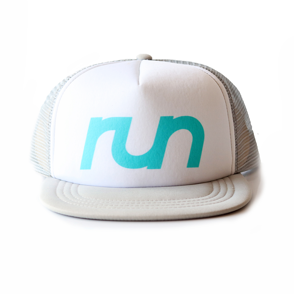 RUN TRUCKER GREY GLORY